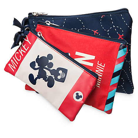 Mickey and Minnie Mouse Disney TAG Cosmetic Bag Set