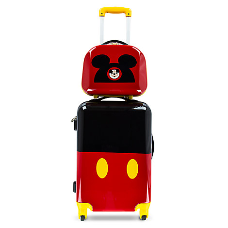Mickey Mouse Stacked Luggage - 26''