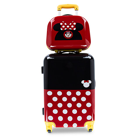 Minnie Mouse Stacked Luggage - 26''