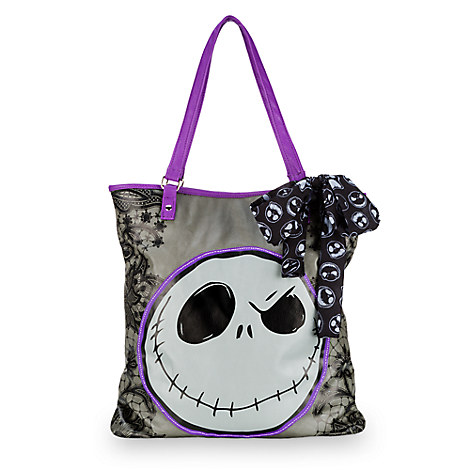 Jack Skellington Faux Leather Shopper Tote