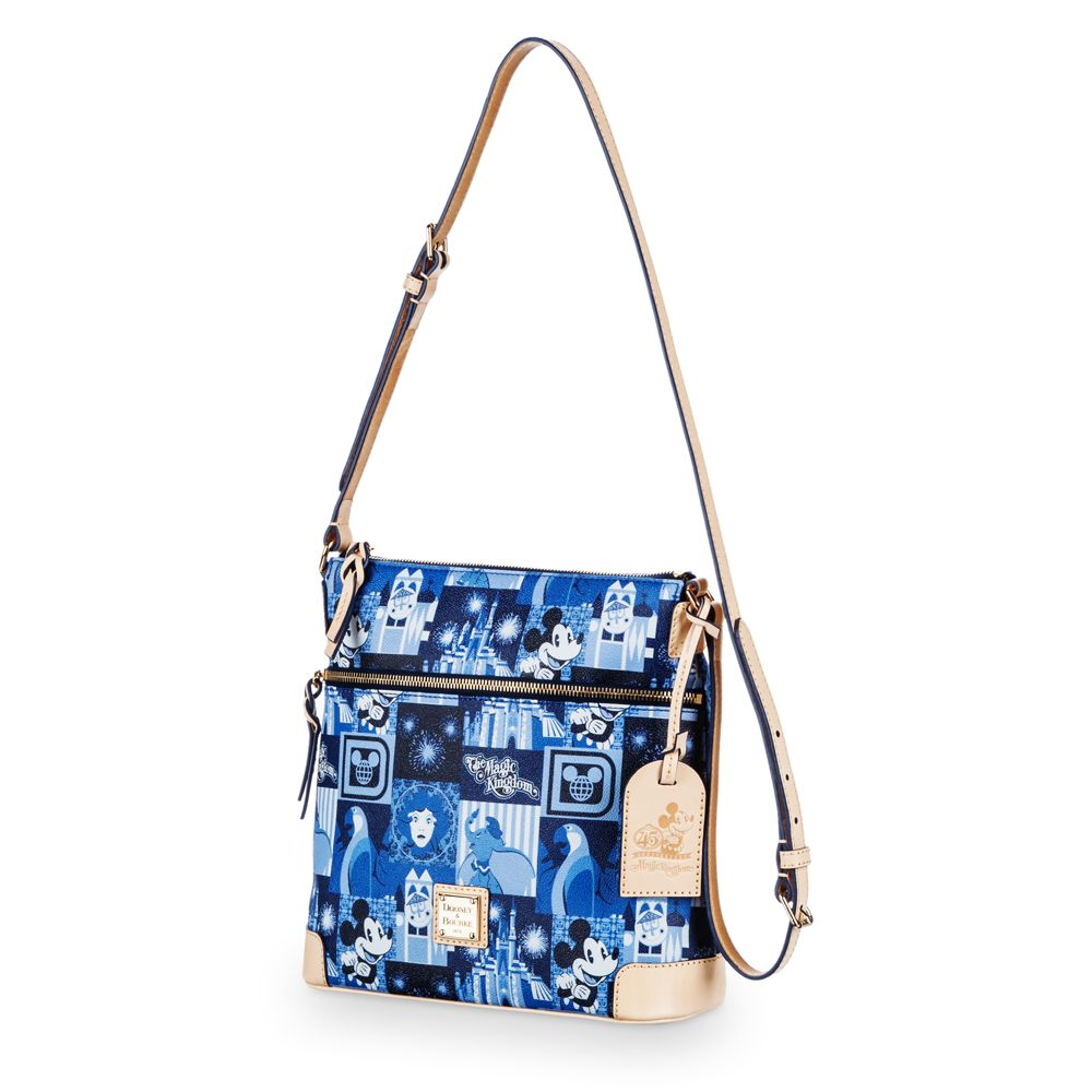 Magic Kingdom 45th Anniversary Leather Letter Carrier Bag by Dooney & Bourke