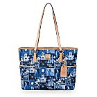 Magic Kingdom 45th Anniversary Leather Small Shopper Tote by Dooney & Bourke