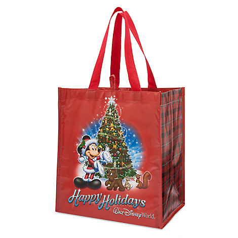 Mickey Mouse and Friends Holiday Resuable Tote