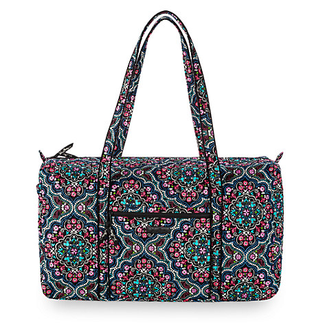 Mickey and Minnie Mouse Medallion Duffle by Vera Bradley