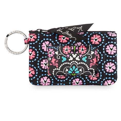 Mickey and Minnie Mouse Medallion ID Case by Vera Bradley