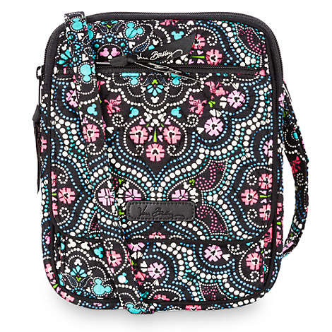 Mickey and Minnie Mouse Medallion Mini Hipster Bag by Vera Bradley