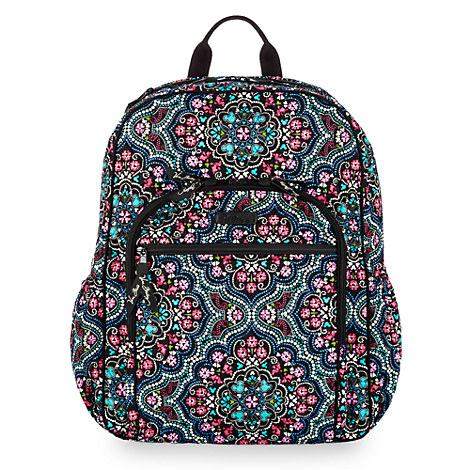 Mickey and Minnie Mouse Medallion Backpack by Vera Bradley