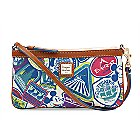 Disney Sticker Collage Wristlet by Dooney & Bourke