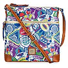Disney Sticker Collage Letter Carrier Bag by Dooney & Bourke