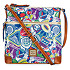 Disney Sticker Collage Letter Carrier Bag by Dooney & Bourke