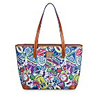 Disney Sticker Collage Tote Bag by Dooney & Bourke