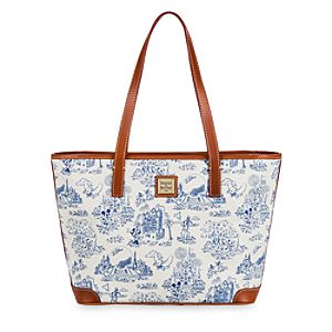 Walt Disney World Toile Tote Bag by Dooney & Bourke