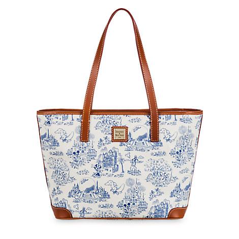 Walt Disney World Toile Tote Bag by Dooney & Bourke