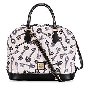 Disney Princess ''Keys'' Zip Zip Satchel by Dooney & Bourke