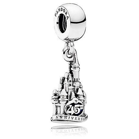 Cinderella Castle Magic Kingdom 45th Anniversary Charm by PANDORA