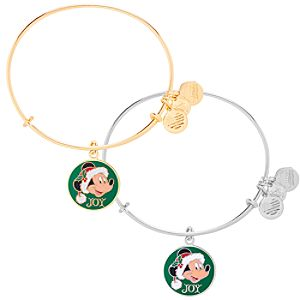 Santa Mickey Mouse Bangle by Alex and Ani