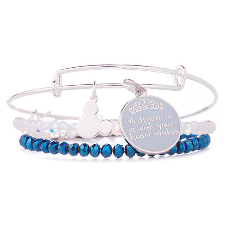 Cinderella ''A Dream is a Wish . . .'' Bangle Set by Alex and Ani