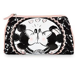 Mickey and Minnie Mouse Cosmetic Bag - Disney Boutique