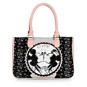 Mickey and Minnie Mouse Handbag - Disney Boutique