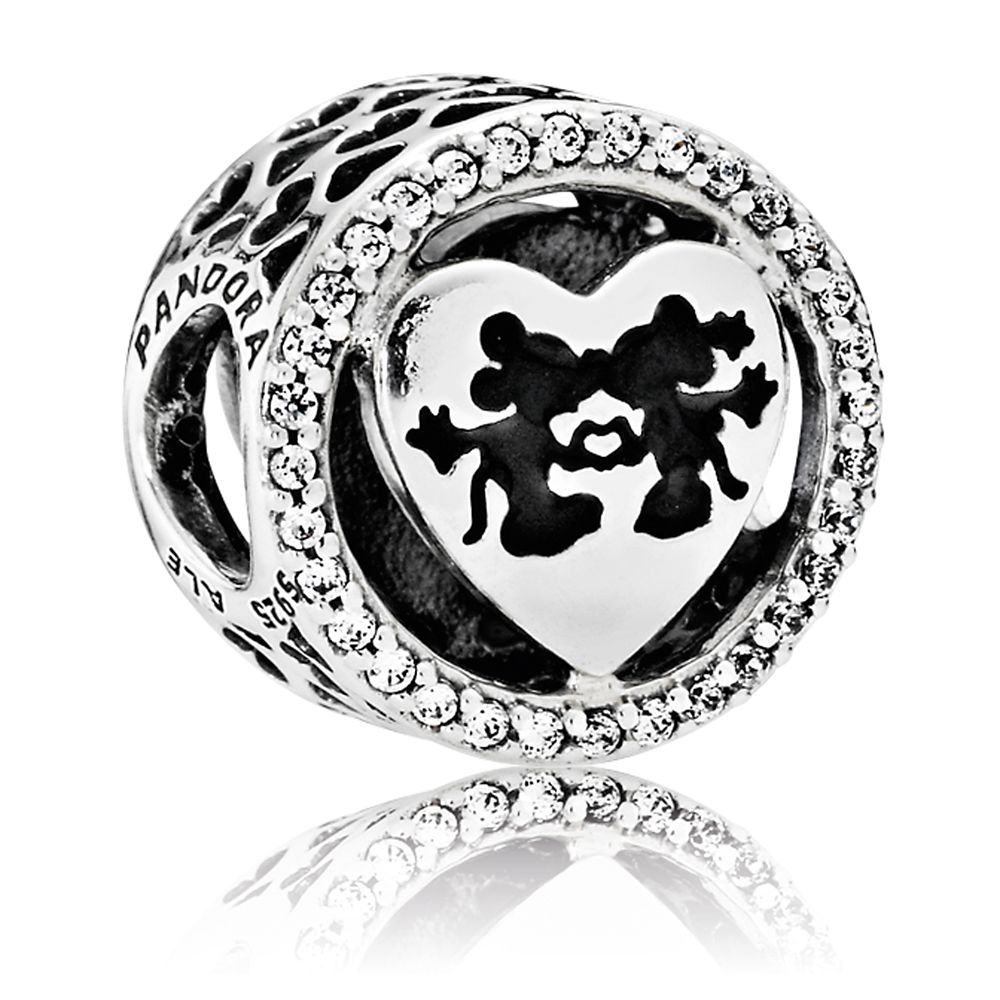 Mickey and Minnie Mouse Sweetheart Charm by Pandora Jewelry