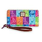 Mickey Mouse and Friends Pop Art Zip Wallet by Dooney & Bourke
