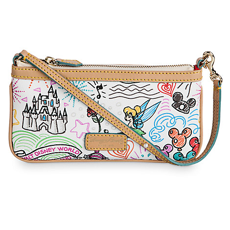 Disney Sketch Wristlet by Dooney & Bourke