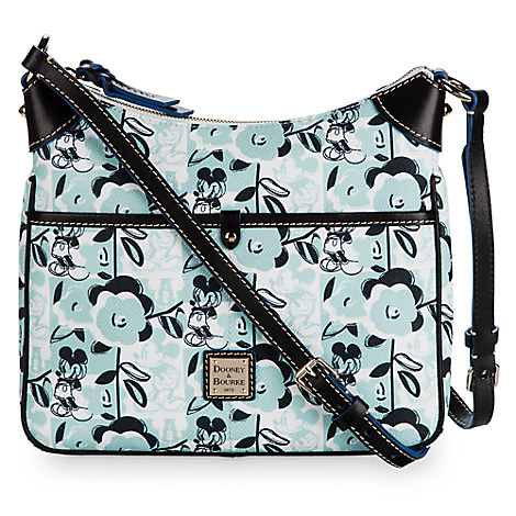Mickey Mouse Geo Floral Crossbody Bag by Dooney & Bourke