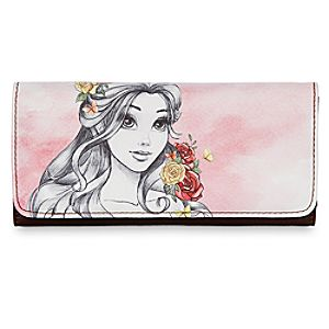Belle Watercolor Wallet – Disney Boutique