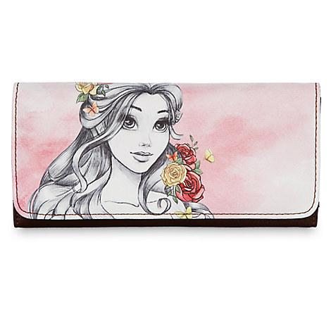 Belle Watercolor Wallet - Disney Boutique