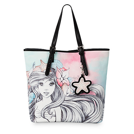 Ariel Watercolor Tote - Disney Boutique