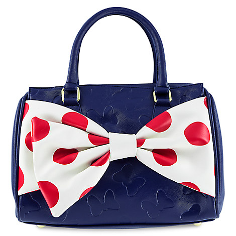 Minnie Mouse Big Bow Handbag - Disney Boutique