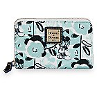 Mickey Mouse Geo Floral Wallet by Dooney & Bourke