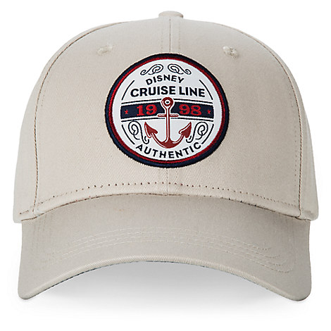 Disney Cruise Line Americana Baseball Cap for Adults - Khaki