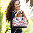 Minnie Mouse Bow Zip Satchel by Dooney & Bourke