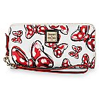 Minnie Mouse Bow Large Wallet by Dooney & Bourke