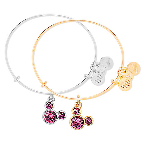 Mickey Mouse Birthstone Bangle by Alex and Ani - October