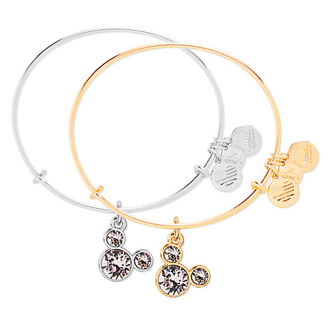 Mickey Mouse Birthstone Bangle by Alex and Ani - April
