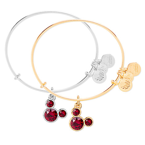 Mickey Mouse Birthstone Bangle by Alex and Ani - January