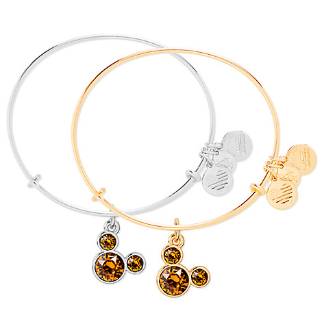 Mickey Mouse Birthstone Bangle by Alex and Ani - November