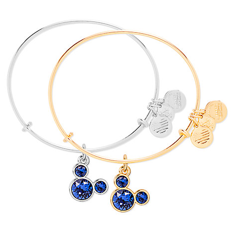 Mickey Mouse Birthstone Bangle by Alex and Ani - September