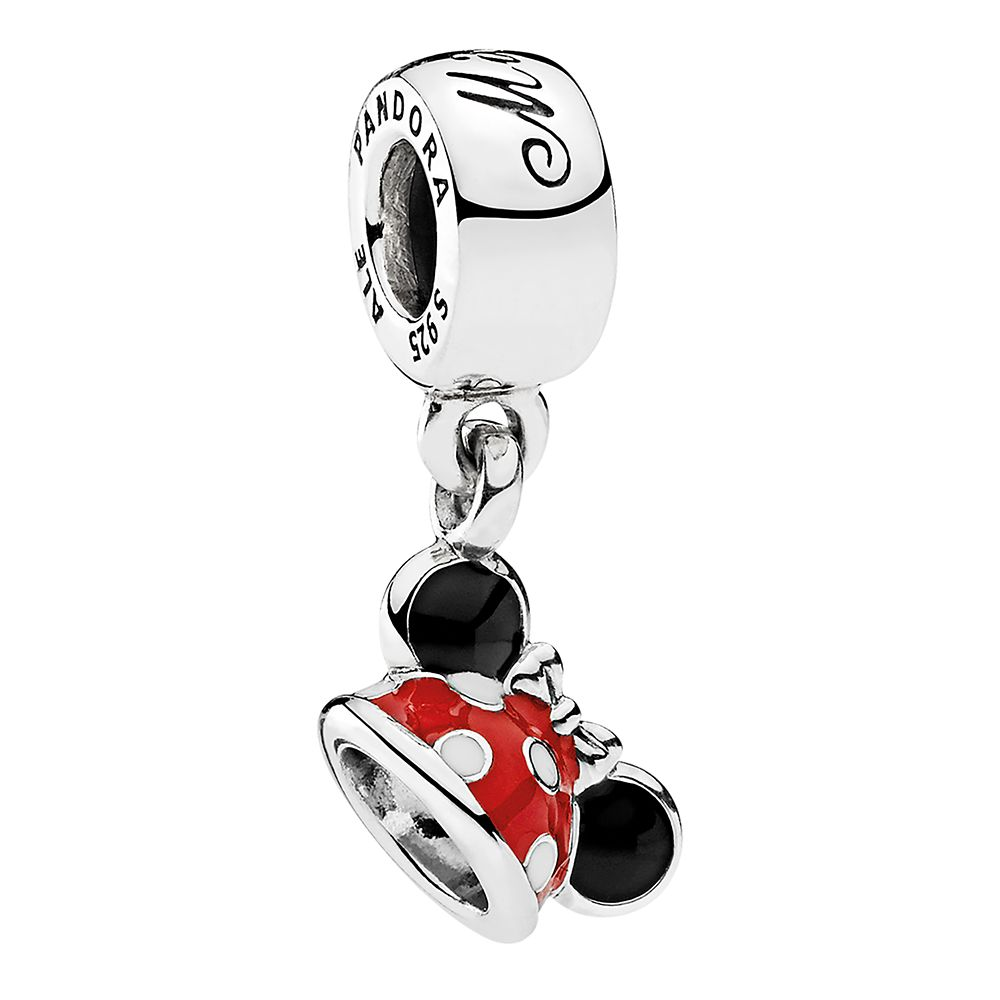Minnie Mouse ''Minnie Ear Hat'' Charm by Pandora Jewelry Official shopDisney