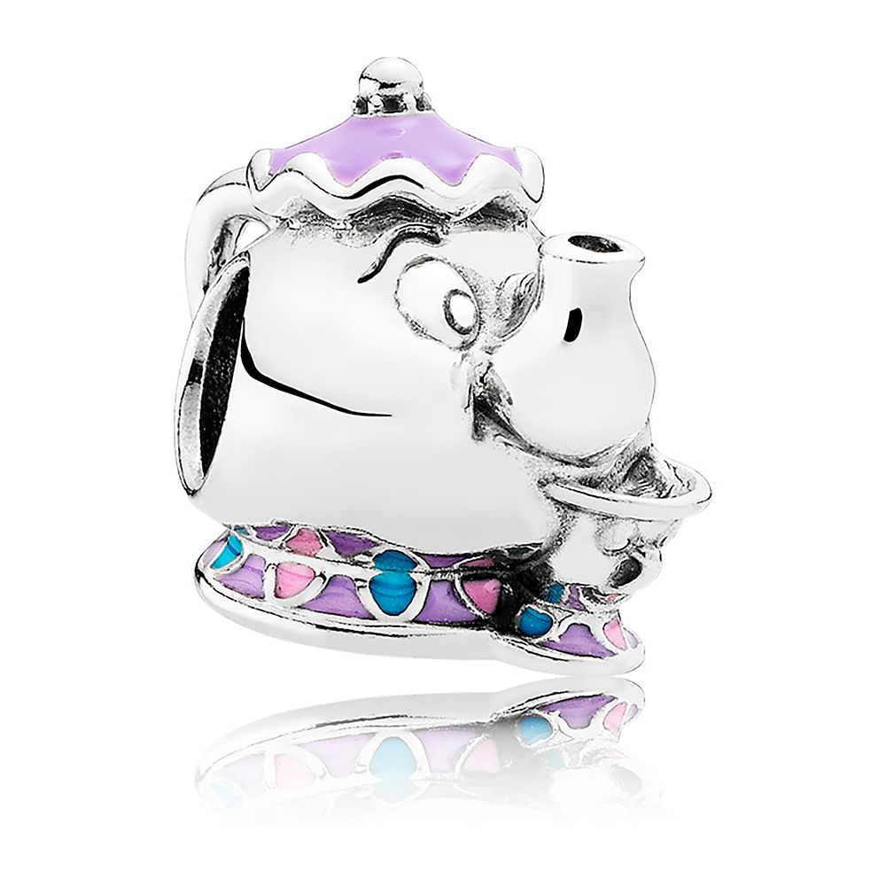 Mrs. Potts and Chip Charm by Pandora Jewelry – Beauty and the Beast
