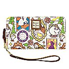 Beauty and the Beast Large Wallet by Dooney & Bourke