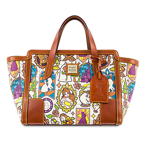 Beauty and the Beast Small Shopper Tote by Dooney & Bourke