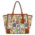 Beauty and the Beast Large Shopper Tote by Dooney & Bourke