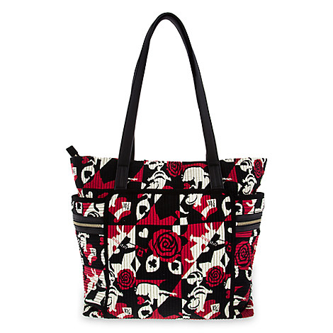 Alice in Wonderland Painting the Roses Red Iconic Deluxe Vera Tote by Vera Bradley