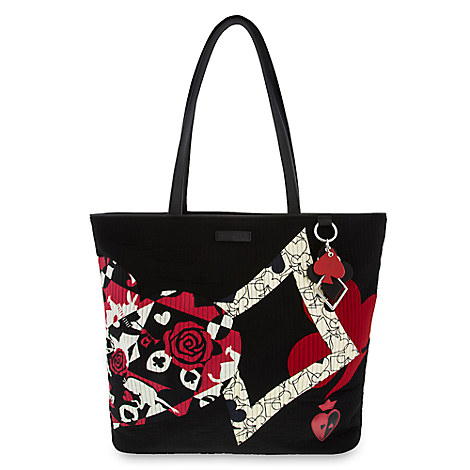 Alice in Wonderland Painting the Roses Red Iconic Vera Tote by Vera Bradley