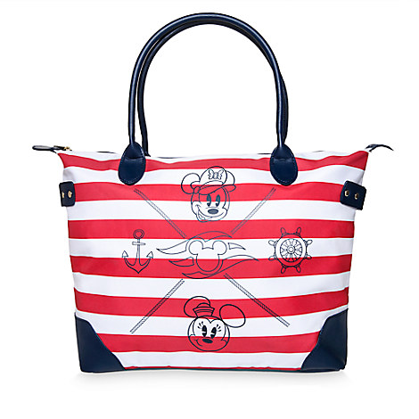 Mickey and Minnie Mouse Tote - Disney Cruise Line