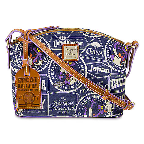 Epcot International Food & Wine Festival 2017 Crossbody Bag By Dooney & Bourke