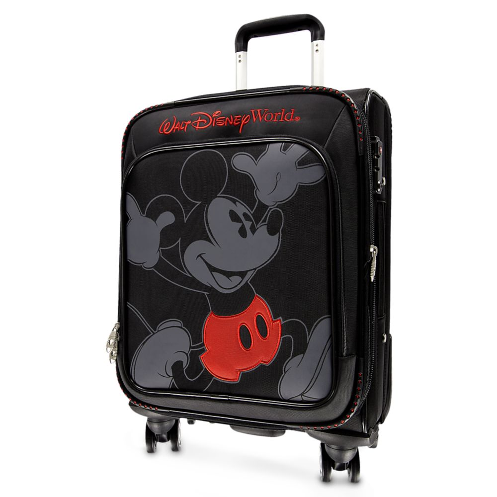 Mickey Mouse Timeless Rolling Luggage – 21'' – Walt Disney World
